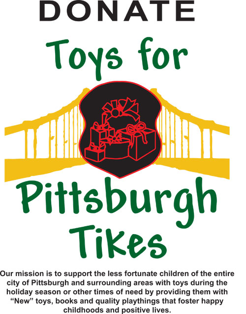 Toys for Pittsburgh Tikes
